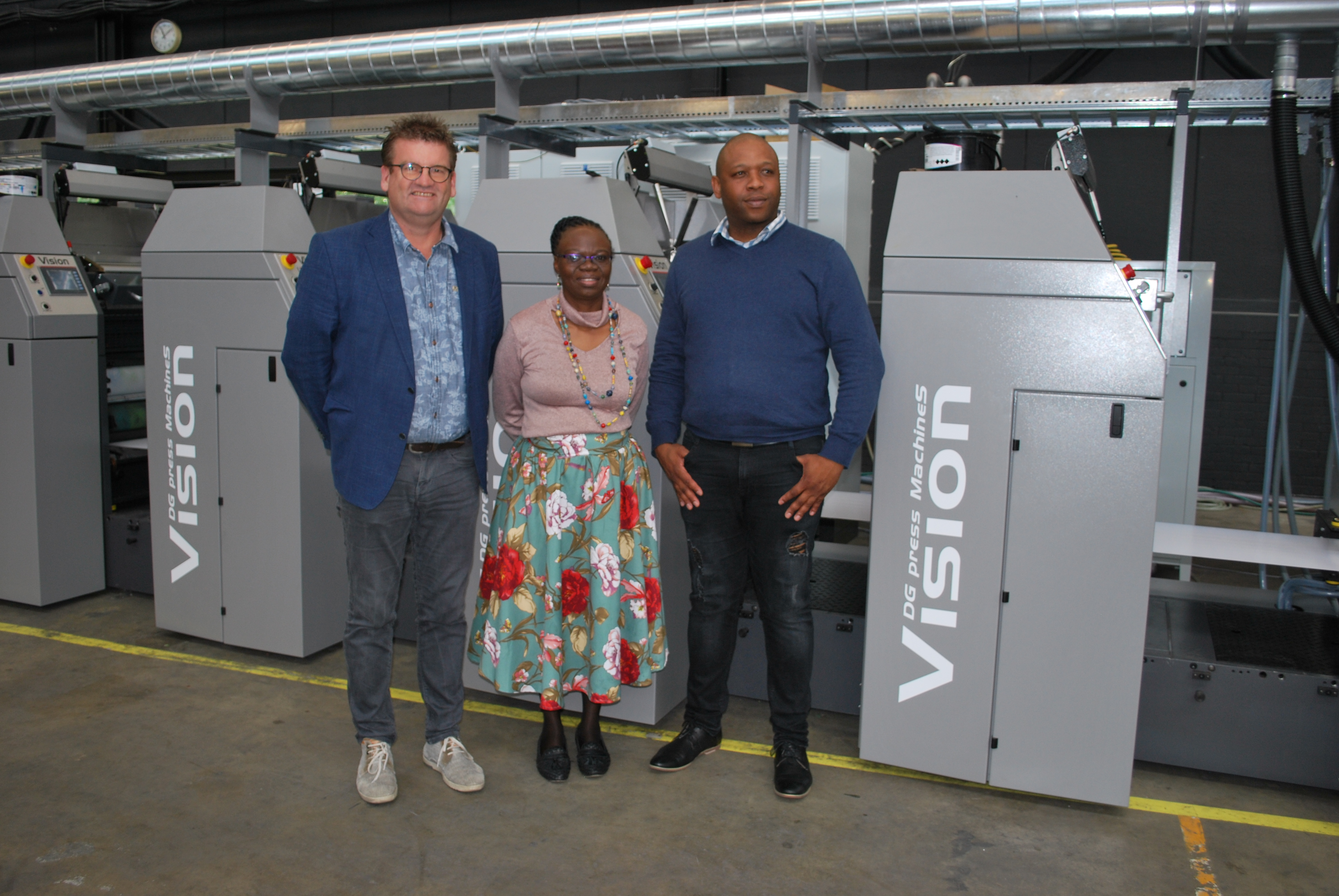Vision offset printing machine for GPW security print