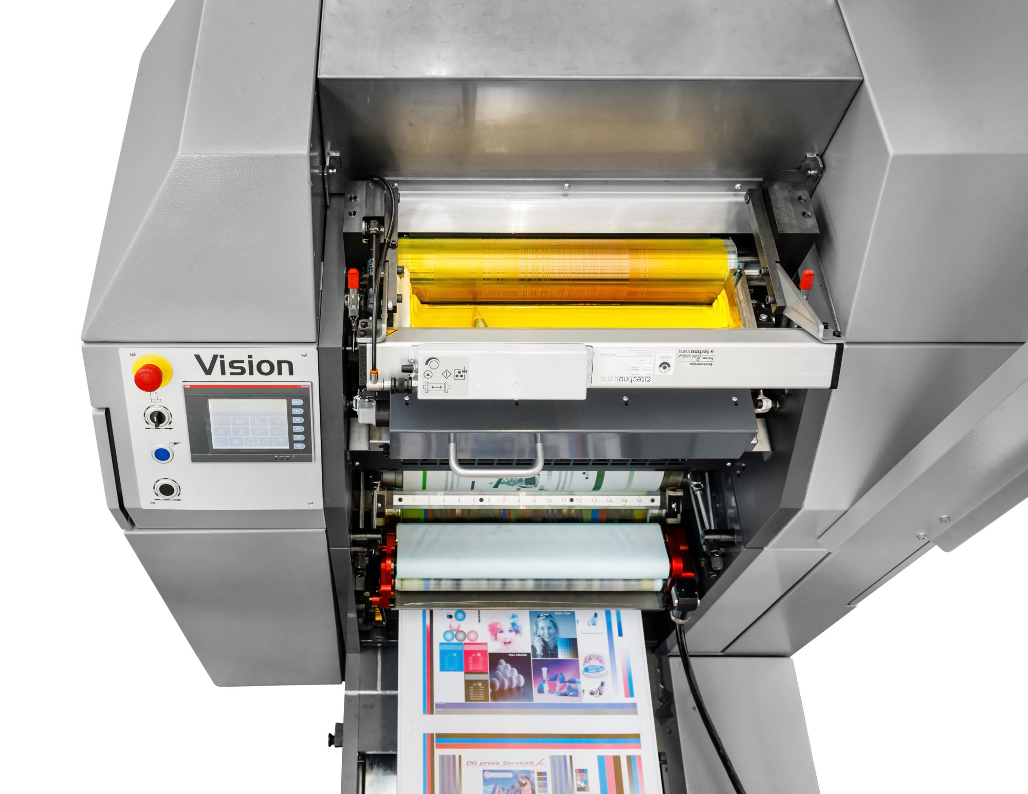 vision hybrid web offset printing press