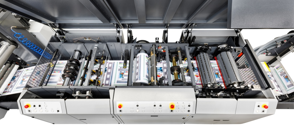 Vision hybrid web offset press