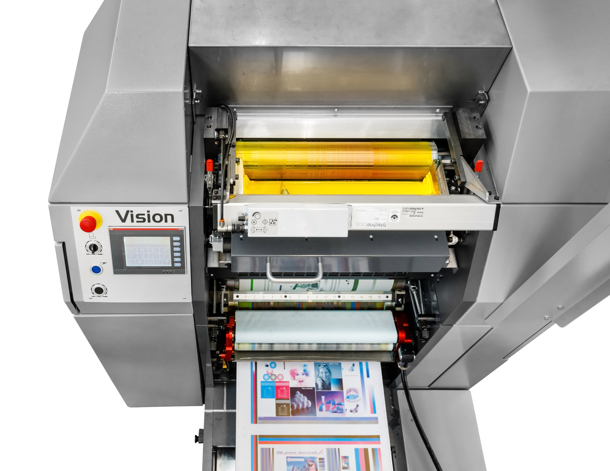 Vision web offset press