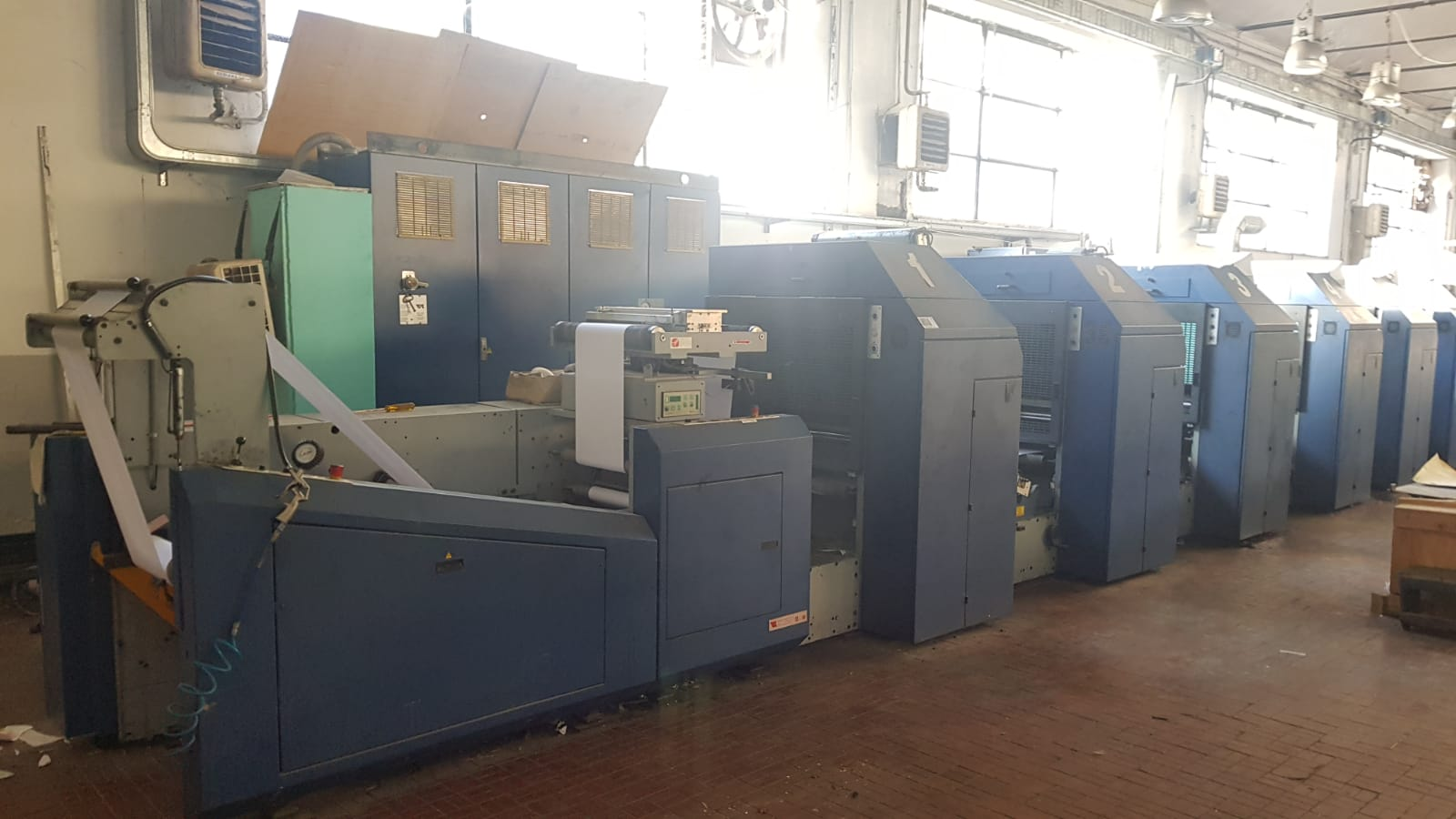 Vision 520 web offset press